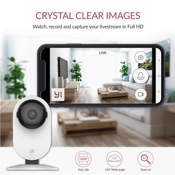 Yi Càmera Vigilància Interior Wifi HD