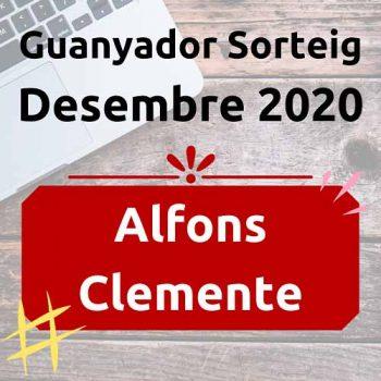 Guanyador Sorteig Desembre 2020