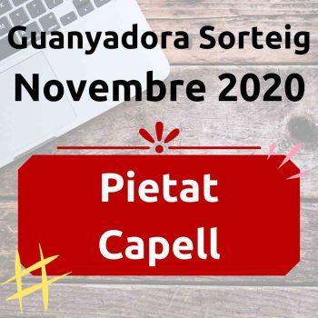 Guanyador Sorteig Novembre 2020